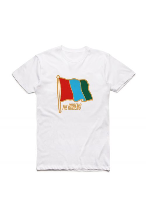 Flag White Tour Tshirt by The Rubens